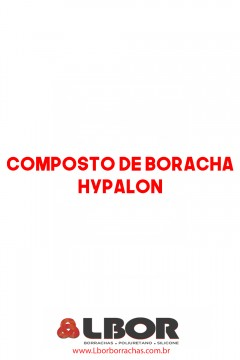 Composto De Borracha Hypalon